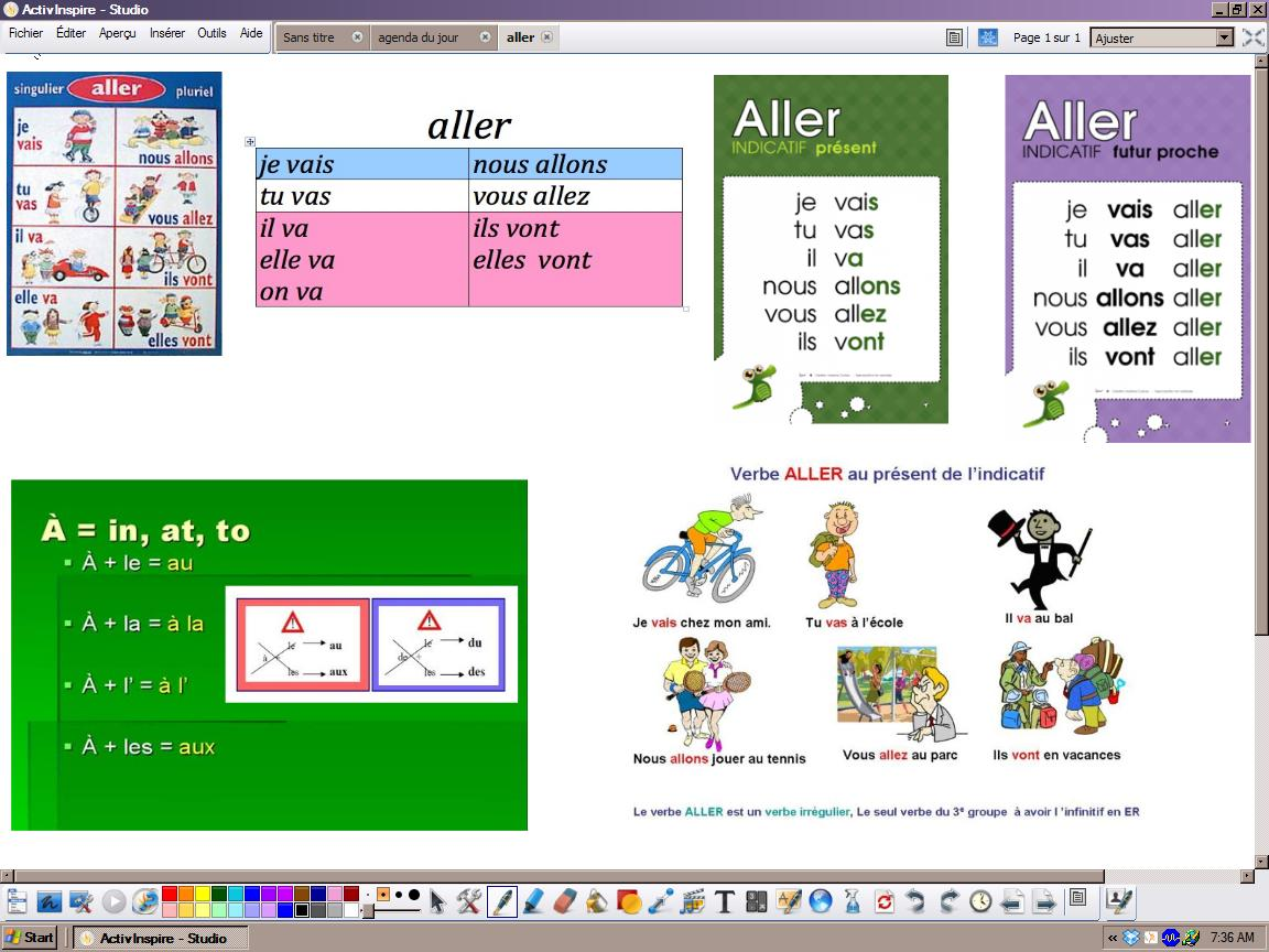 vhsfrench1 [licensed for non-commercial use only] / le verbe aller