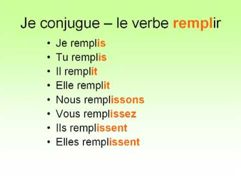 Vhsfrench1 Licensed For Non Commercial Use Only Les Verbes En Ir